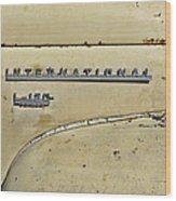 International L-120 Series Wood Print