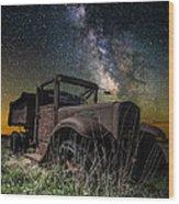 International Milky Way Wood Print