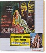 Interpol, Aka Pickup Alley, Us Poster Wood Print