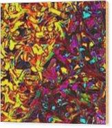 Interracial Colours Wood Print