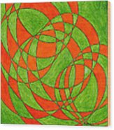 Intersection, No. 1 Wood Print
