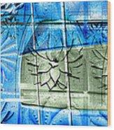 Interstate 10- Exit 258- Broadway Blvd / Congress St Underpass- Rectangle Remix Wood Print
