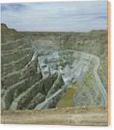 Inti Raymi Gold Mine Quarry In Oruro Wood Print