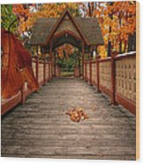 Into The Autumn Wood Print