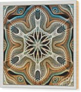 Into The Cortex Wood Print