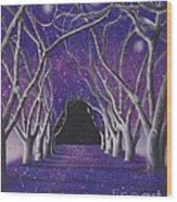 Into The Dark Wood Print by Elizabeth Dobbs