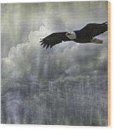 Into The Heavens Wood Print