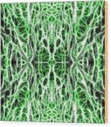 Into The Matrix Wood Print