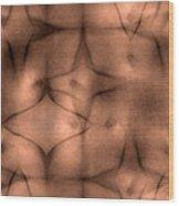 Intraception Wood Print