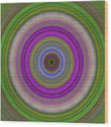 Introspection - Energy Art By Sharon Cummings Wood Print