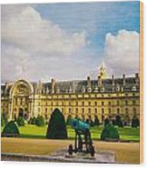 Invalides Paris France Wood Print