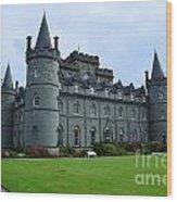 Inveraray Castle In Argyll Wood Print