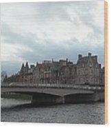Inverness And Bridge Wood Print