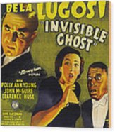 Invisible Ghost Wood Print by Monogram Pictures