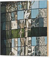 Ion Orchard Reflections Wood Print