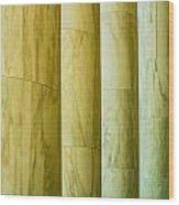 Ionic Architectural Columns Details Wood Print