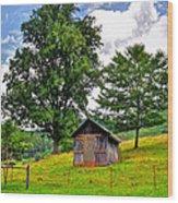 Iotla Valley  Wood Print
