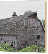 Iowa Barn 7414 Wood Print