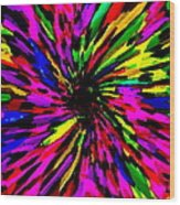 Iphone Cases Colorful Floral Abstract Designs Cell And Mobile Phone Covers Carole Spandau Art 159 Wood Print
