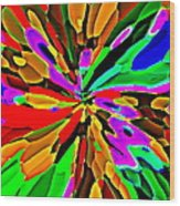 Iphone Cases Colorful Flowers Abstract Roses Gardenias Tiger Lily Florals Carole Spandau Cbs Art 180 Wood Print