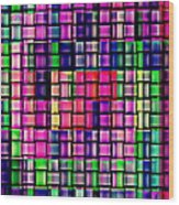 Iphone Cases Colorful Intricate Geometric Covers Cell And Mobile Phone Art Carole Spandau Cbs 169  Wood Print