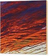 iPhone Southwestern Skies Wood Print