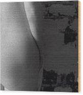 Ir Nude 0042 Wood Print