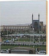 Iran Isfahan Landmarks Wood Print