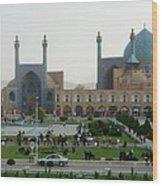 Iran Isfahan  Wood Print