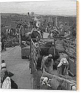 Iraq Al Manshiyya Evacuation 1948 Wood Print