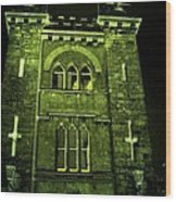 Ireland Church IIi Emerald Night Wood Print