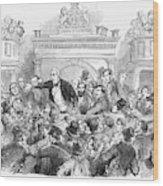 Ireland Election, 1857 Wood Print