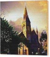 Ireland St. Brendan's Cathedral Wood Print