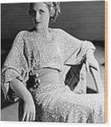 Irene Hervey, 1933 Wood Print