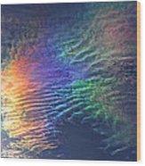 Iridescent Clouds 1 Wood Print
