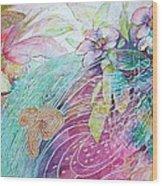 Iridescent Fairytale Wood Print