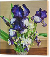 Iris #16 Wood Print