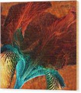 Iris Sonata 3 Wood Print