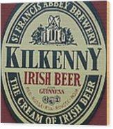 Irish Beer Wood Print