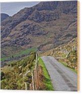 Irish Road Wood Print