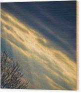 Irish Sunbeams Wood Print