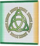 Irish Triquetra Wood Print