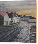 Rathvilly After The Rain Wood Print