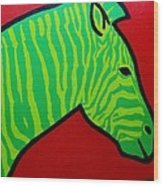 Irish Zebra Wood Print
