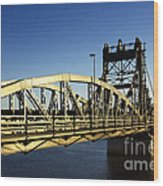 Iron Bridge Wood Print