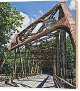Iron Bridge Wood Print