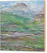 Iron Hills Wood Print