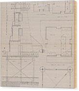 Iron Lighthouse Wood Print