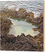 Ironshore Tidewater Pool Wood Print