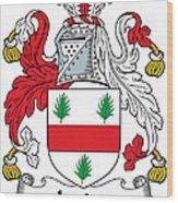 Irvine Coat Of Arms Irish Wood Print